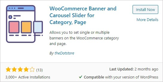 WooCommerce Banner and Carousel Slider for Category